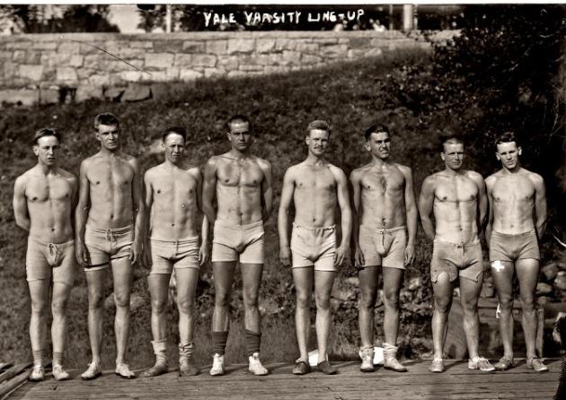 Yale Varsity Rowing, 1911