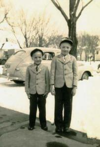 With big brother, well before third grade
