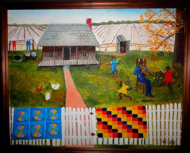 Wardie Willis, Plantation Scene