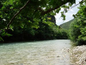 The River Acheron - for real!