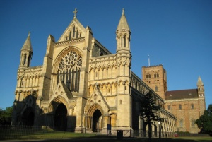 The Cathedral Church, St. Albans, England. Religion or Spirituality?