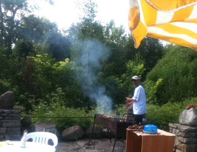 Lutheran Seminary Cookout
