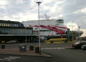 "The ""Baltic Princess"" - too crowded for comfort."