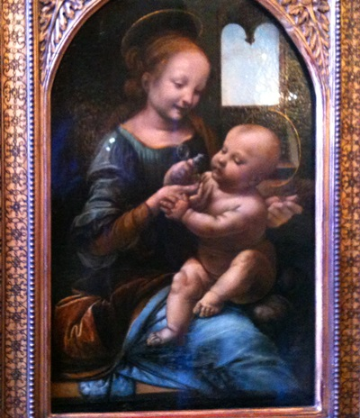 Madonna and Child, Da Vinci - one of fourteen