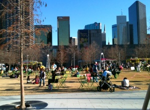 Klyde Warren Park - renew or rebuild?