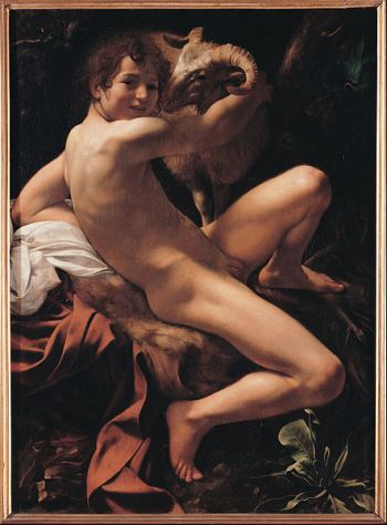 Not the Caravaggio they showed us in college