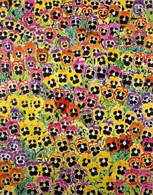 Joe Brainard loved pansies