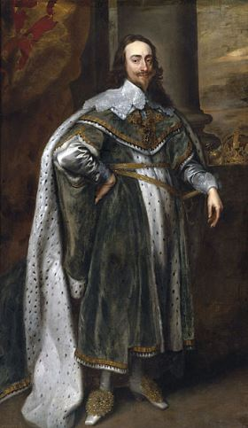 King Charles I, Van Dyck
