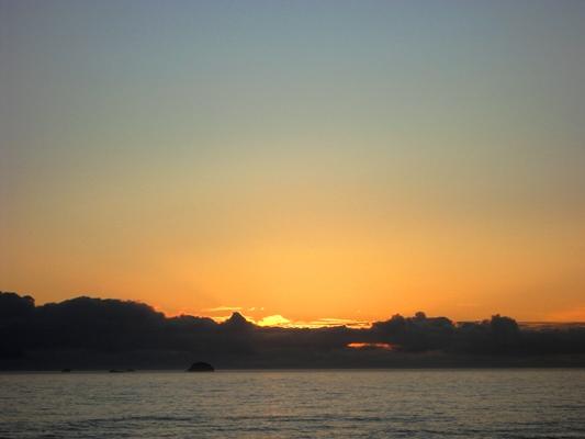 Sunset over Paradise Beach, Oregon