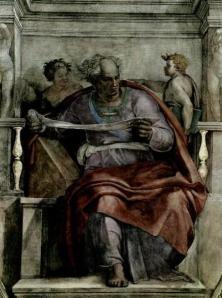 The real prophet by Michelangelo  (not Osteen)