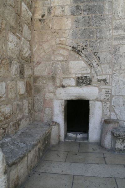 Entrance to the Church of the Nativity, Bethlehem