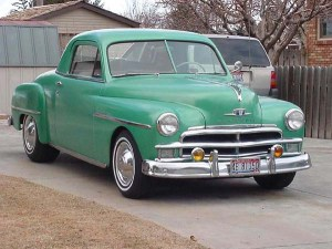 Just a '52 Plymouth for me.