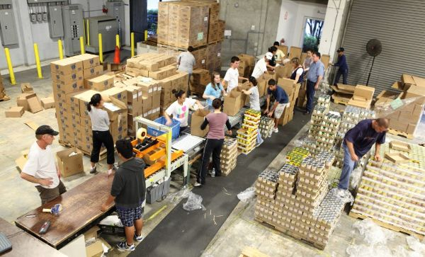 San Diego Food Bank, 2013