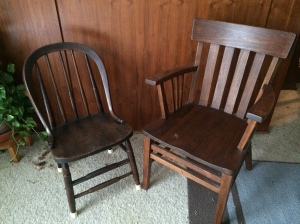 The chairs of my fathers.
