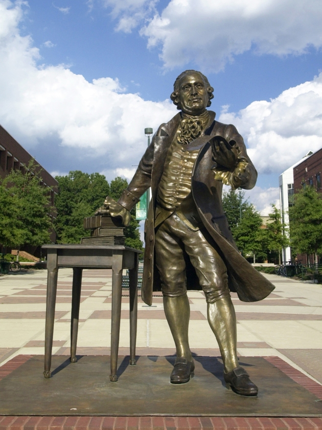 "George Mason, ""father"" of the Bill of Rights"