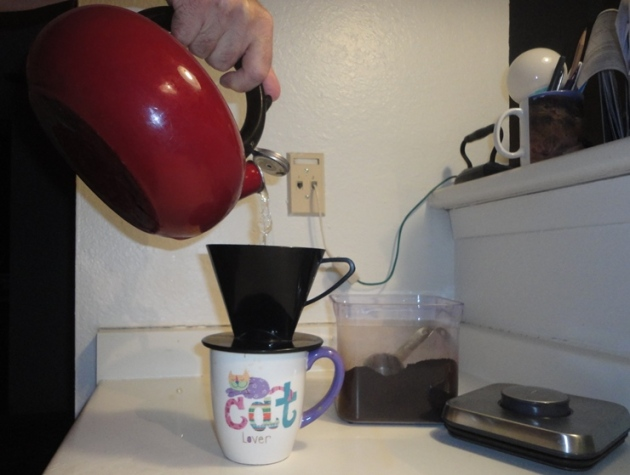 I make coffee the old fashioned way