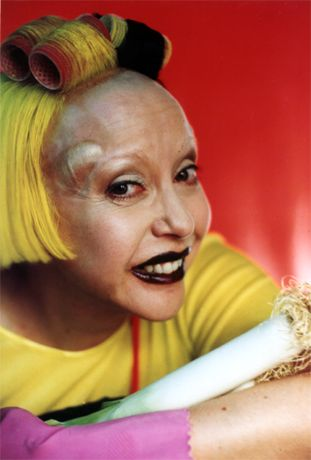 Orlan. The grotesque, or. . .