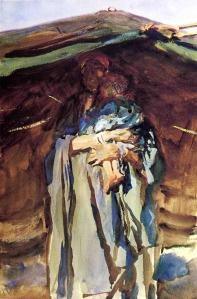 Bedouin Mother, John Singer Sargent, 1905