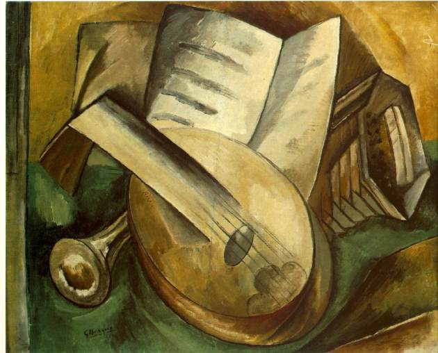 Georges Braque, Musical Instruments