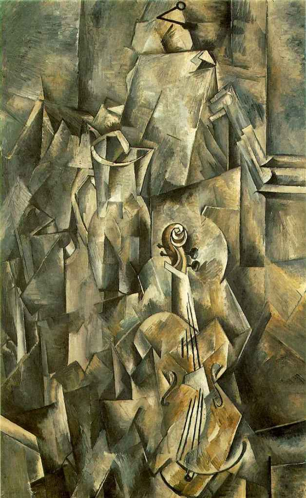 Braque. Guitar with Pitcher.