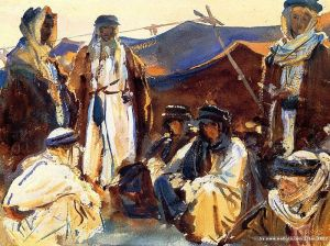 Bedouin Camp, John Singer Sargent, 1905