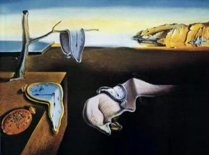 Our best-known work of surrealism.