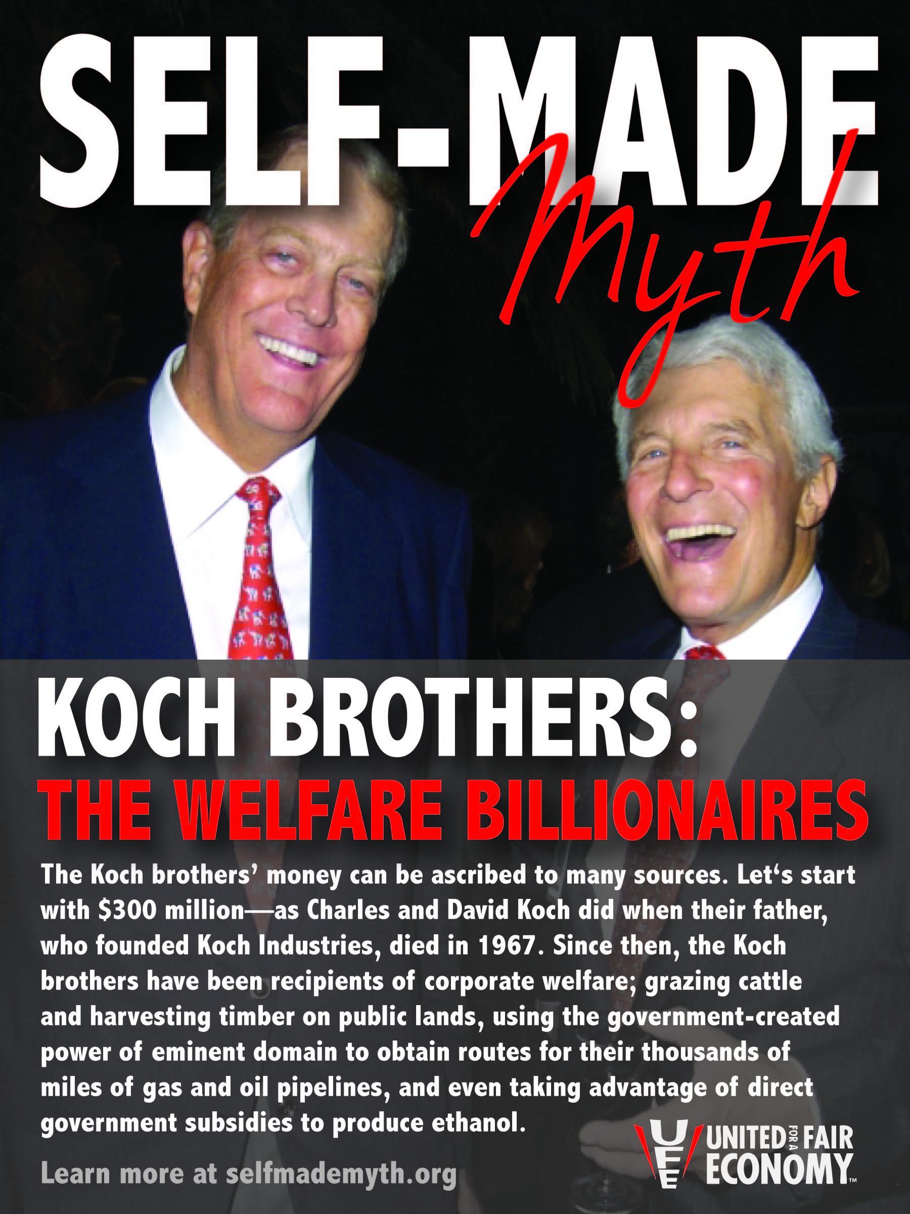 Koch Brothers Me Senescent