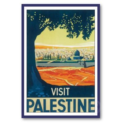 A British travel poster from the 1930s - to visit a place that didn't exist?