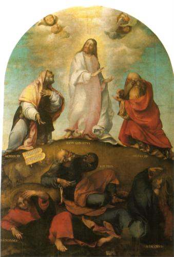 The Transfiguration of Christ, Lorenzo Lotto, 1511