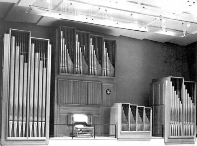 The organ on which I auditioned.