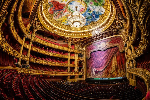 To attend the Paris Opera