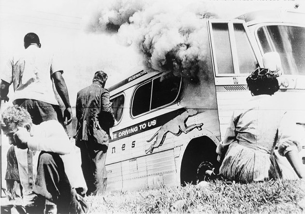 "What we do to ""Freedom Riders."""