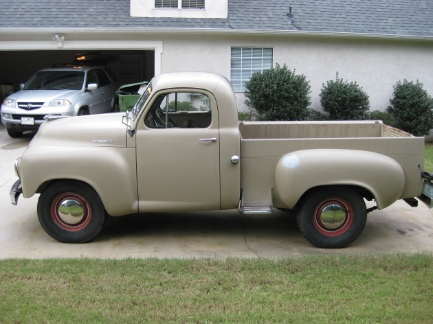 A Studebaker with back-up camera?
