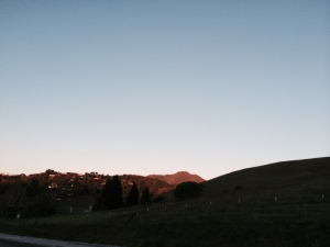 Christmas over Mount Tamalpais, Mill Valley, CA, 2014