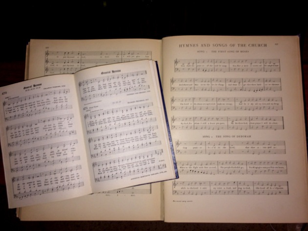 Gibbons  and hymnal gibbons