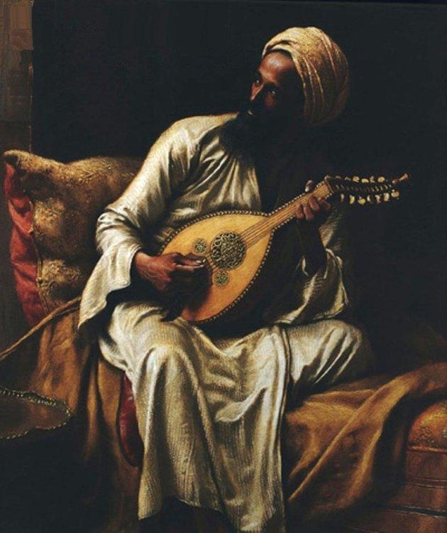 """""""Arab Musician,"""" by al-Brazyly"""