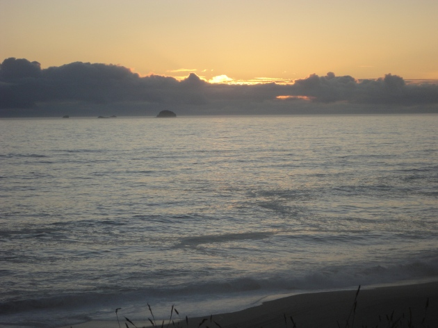 Sunset, July 12, 2011. Paradise Point, Oregon.