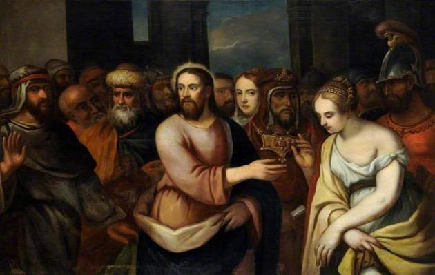 Titian, The Woman Taken in Adultery
