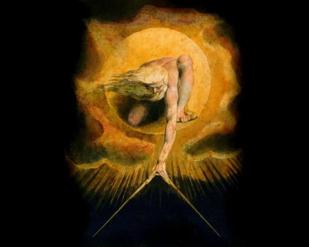 """Ancient of Days,"" by William Blake"