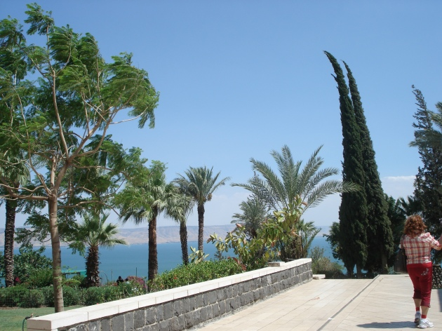 The Sea of Galilee in the Occupied Territories of Palestine