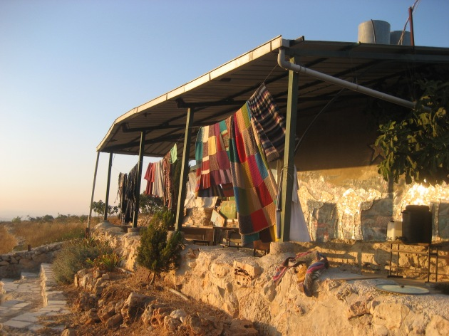 http://brightgreenscotland.org/index.php/2010/06/demolishing-peace-in-palestine-tent-by-tent/
