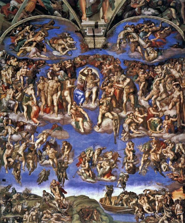 Michelangelo's heaven