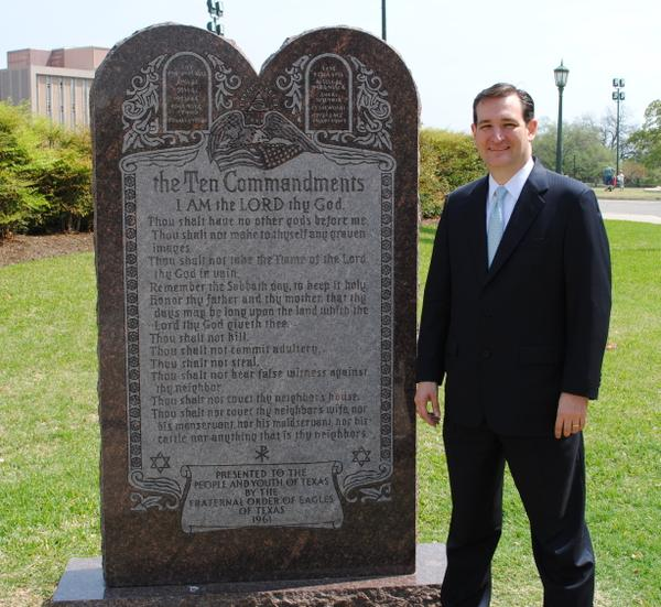 cruz commandments